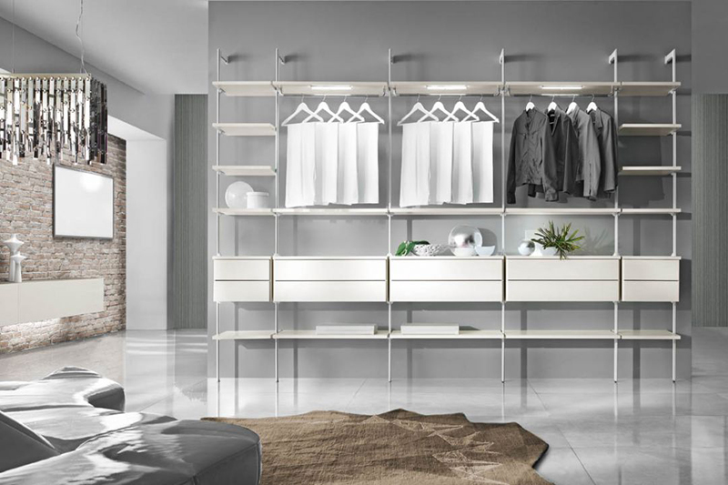 mobili su misura e arredo casa - arredamenti vernola - Spazi Semplici Personalizzati Cabina Armadio